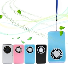 Mini Air Conditioner Fan USB Cooler Cooling Rechargeable Handheld Micro portable lithium battery fan 2pcs mini smart phone fan portable mini micro usb fan usb cooler cooling mini fan for iphone 5 5s 5c 6 6 plus 6s 6s plus