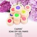 #50618  2017 Newest Product CANNI Nail Art Summer Color Nail Paint Gel Polish Ink, Nail Varnish Paint Color Soak UV LED Nail Gel