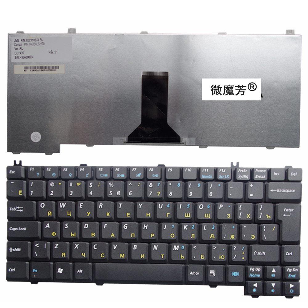 RU For Lenovo E600 E600A E600G E600D A500 100A 100L 100D A510 Laptop Keyboard Russian New Black