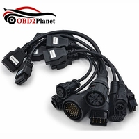 Truck Cables Full Set 8 Diagnostic Tool OBD Scanner Truck Leads Car Cables Full Set 8