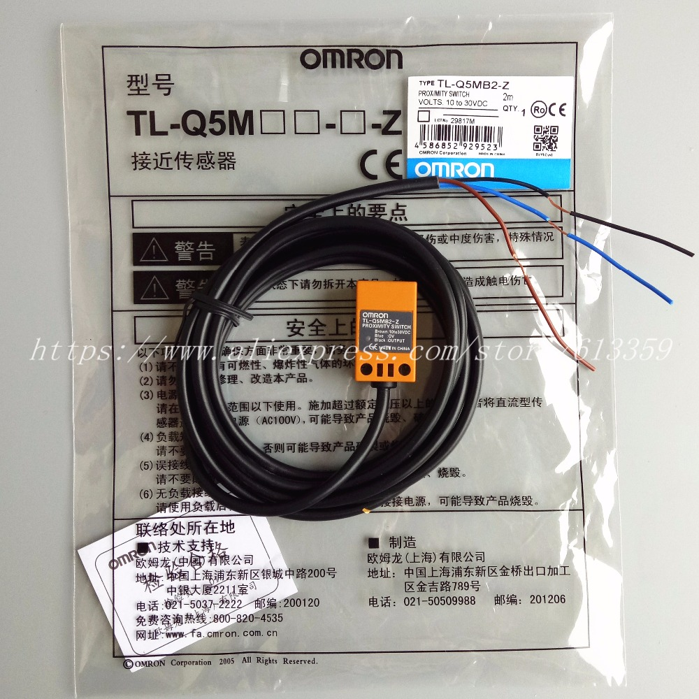 5pcs Tl Q5mb2 Z Pnp Nc Omron Proximity Switch Inductive Sensor 3 Turck Wiring Diagram Wire 10 30vdc In Sensors From Electronic Components Supplies On Alibaba