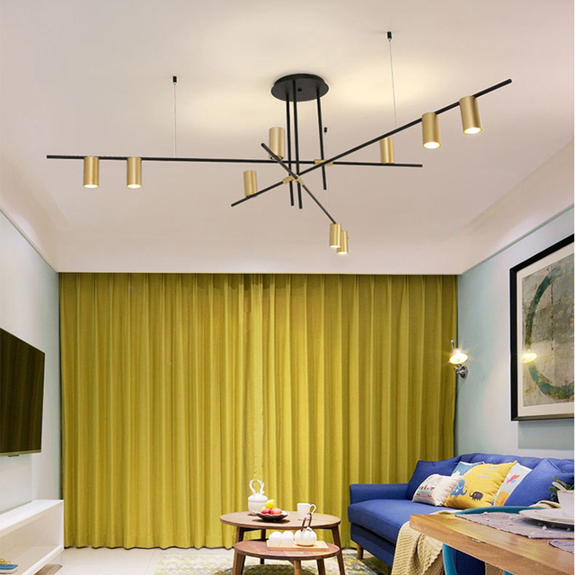 Nordic creative pendant lamp post-modern simple bar living room hanging lamp dining room bedroom personality LED pendant lights