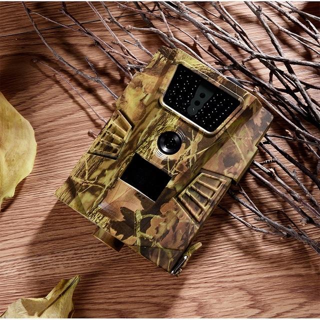 Suntekcam HT-001B Trail Camera 12MP 1080P 30pcs Infrared LEDs 850nm Hunting Camera IP54 Waterproof 120 Degree Angle Wild Camera
