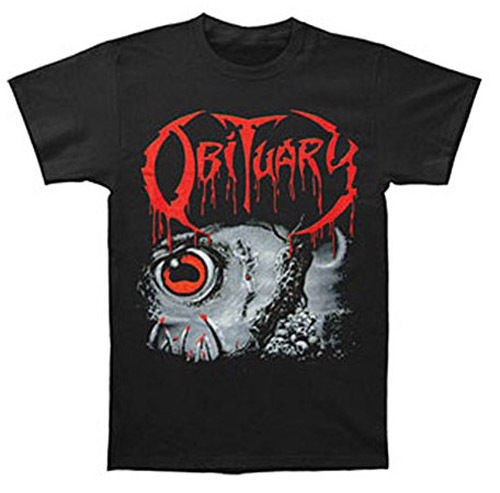 New Obituary Cause of Death Album Double Sided Shirt badhabitmerch SML-3XL