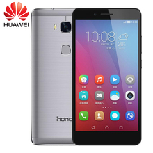 "Original huawei honor 5x play 4g lte fdd teléfono móvil msm8939 android 5.1 5.5 ""FHD 1080 P 3 GB RAM 13.0MP Smartphone de Huellas Digitales"