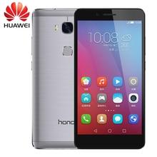 Original HuaWei Honor 5X Play 4G FDD LTE Mobile Phone MSM8939 Android 5.1 5.5″ FHD 1080P 3GB RAM 13.0MP Fingerprint Smartphone