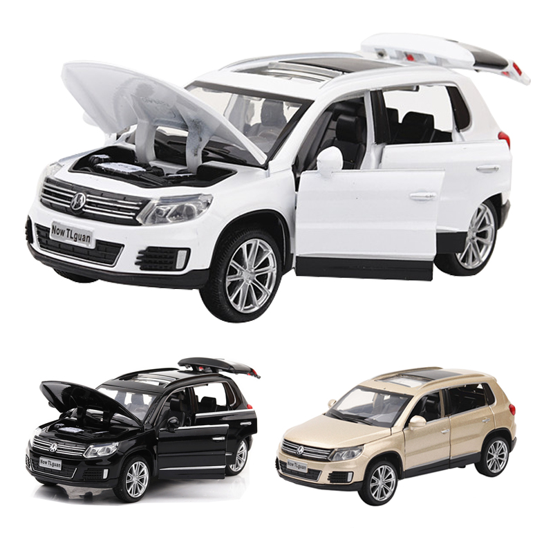 Suv Cars Page 7: Volkswagen Tiguan 7 Doors Can Opened Model 1:32 Scale