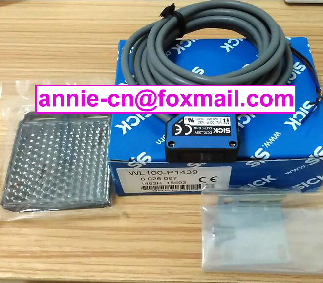 ФОТО 100% New and original  WL100-P1439 (is WL100-P1432+stent)   SICK  Photoelectric switch