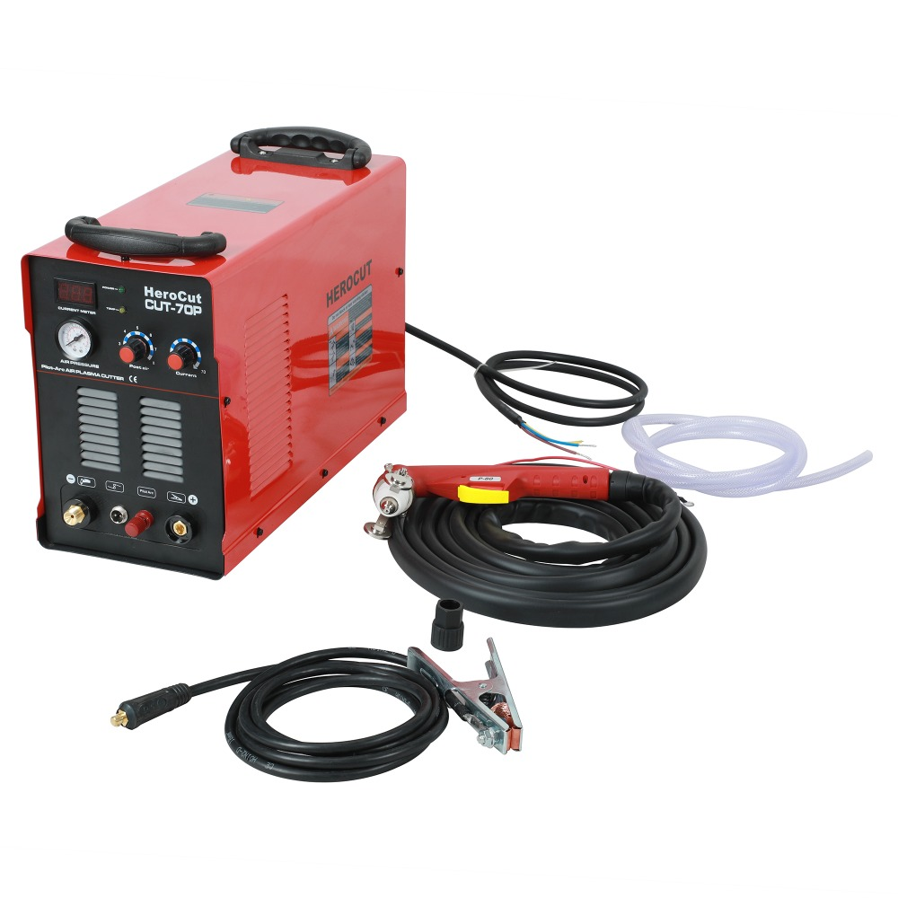 IGBT Pilot Arc HF CUT70SP 70Amps DC Air Plasma Cutting Machine Plasma Cutter Cutting Thickness 20mm Clean Cut