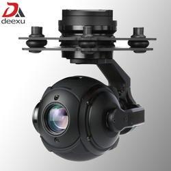 Легкий 365g 3 оси БПЛА gimbal камера 10x зум 1080 P HD БПЛА Дрон камера