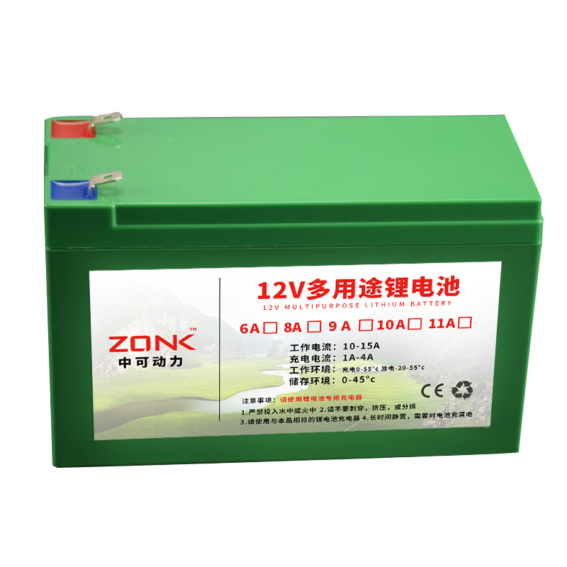 <font><b>12V</b></font> 12AH,11AH,10AH,9AH,<font><b>8AH</b></font>,7AH,6AH Lithium ion chargeable <font><b>battery</b></font> for li ion power source image
