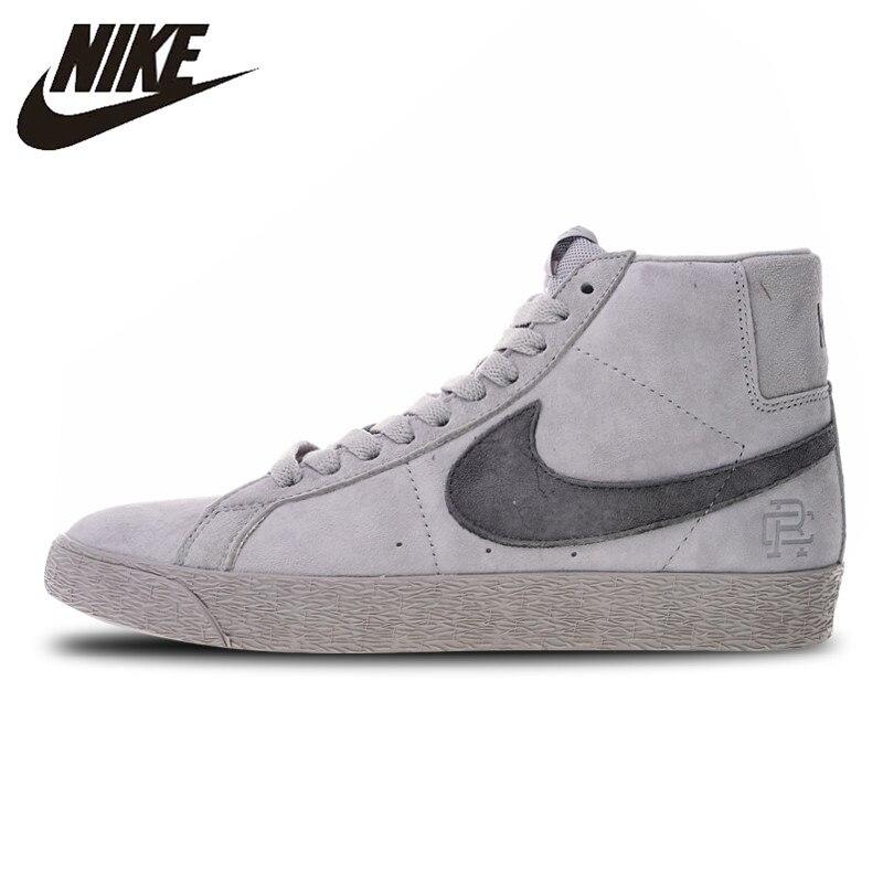 0b5eaedc8c05c Nike Zoom SB Blazer Meados Campeão Reinante de Skate Sapatos Sneakers para  Homens AH9166-016. R  311