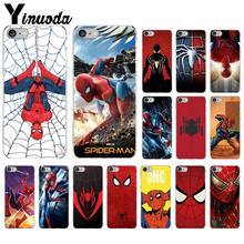 Yinuoda Marvel Comics Spinne Mann Homecoming Neu Angekommen Telefon Fall für iPhone 8 7 6 6S Plus 5 5S SE XR X XS MAX Coque Shell(China)