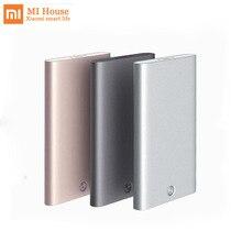 Xiaomi Mijia kreatywne wizytówki etui automatyczne Pop Up Box Cover wizytownik metalowa kopertówka ID Card Box dla mężczyzn
