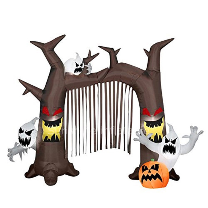 3m haunted archway halloween air blown inflatable dead tree arch inflatable archway entrance in party diy decorations from home garden on aliexpresscom