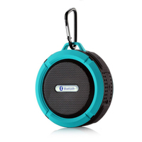 Portable Outdoor Wireless Bluetooth Speaker C6 Waterproof Loudspeaker With Suction Cup Support FM TF Card For