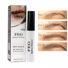 FEG Eyebrows Eyelash Enhancer Original Rising Eyebrow Growth Serum Long Thicker Cosmetics Liquid TSLM2