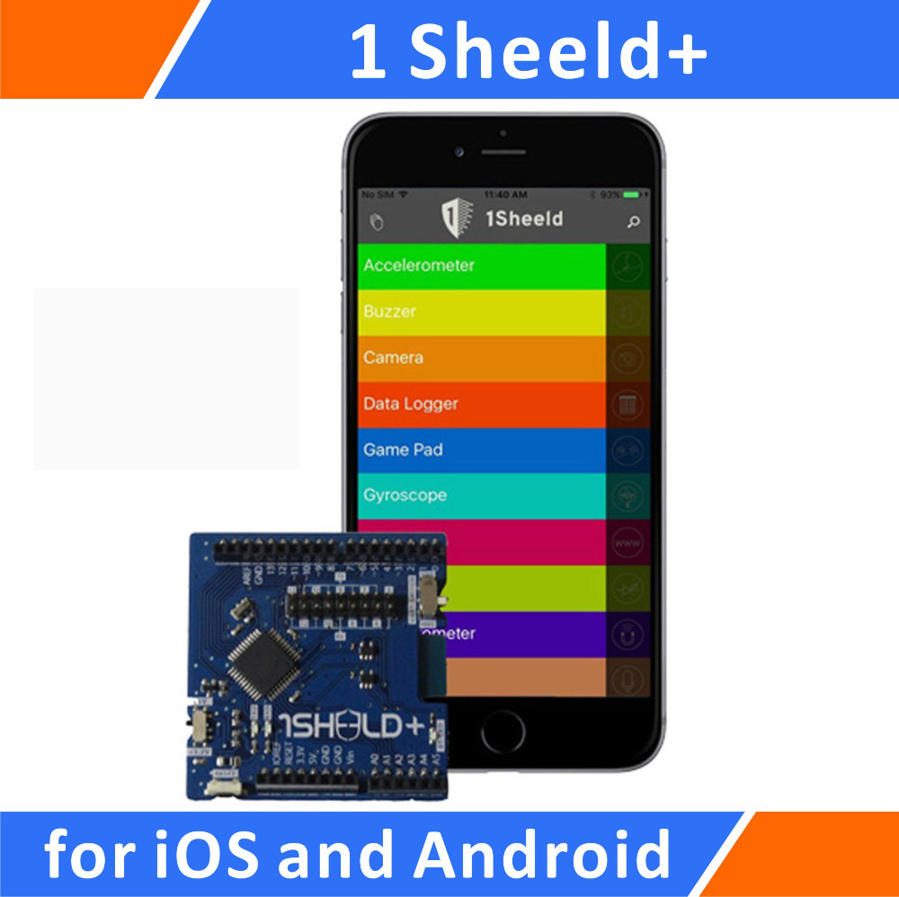 1Sheeld+: The Shield For Arduino Compatible With IOS And Android