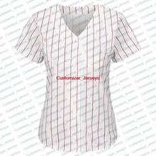 8882ca50a19 Women Philadelphia Quick-Dry Flexible Short T-shirts Cheap Baseball Jersey