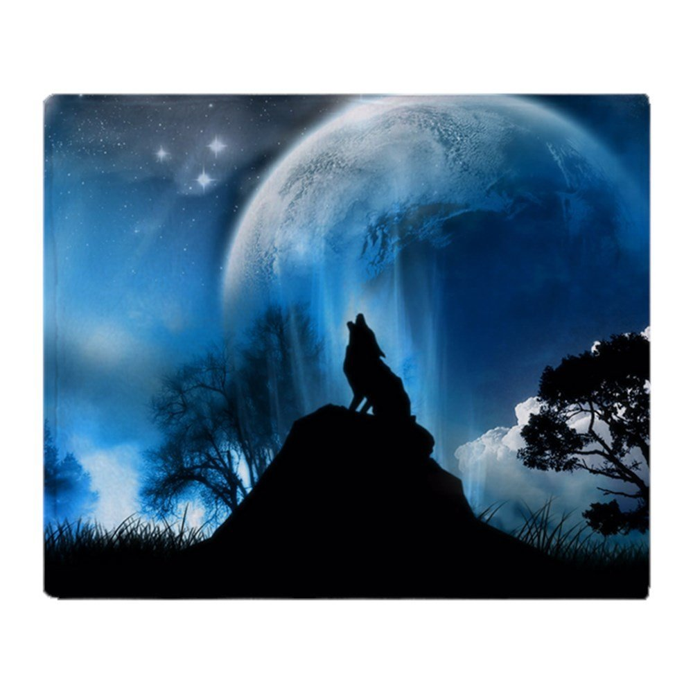 Custom Creative: Aliexpress.com : Buy Custom Creative Design Blanket Wolf