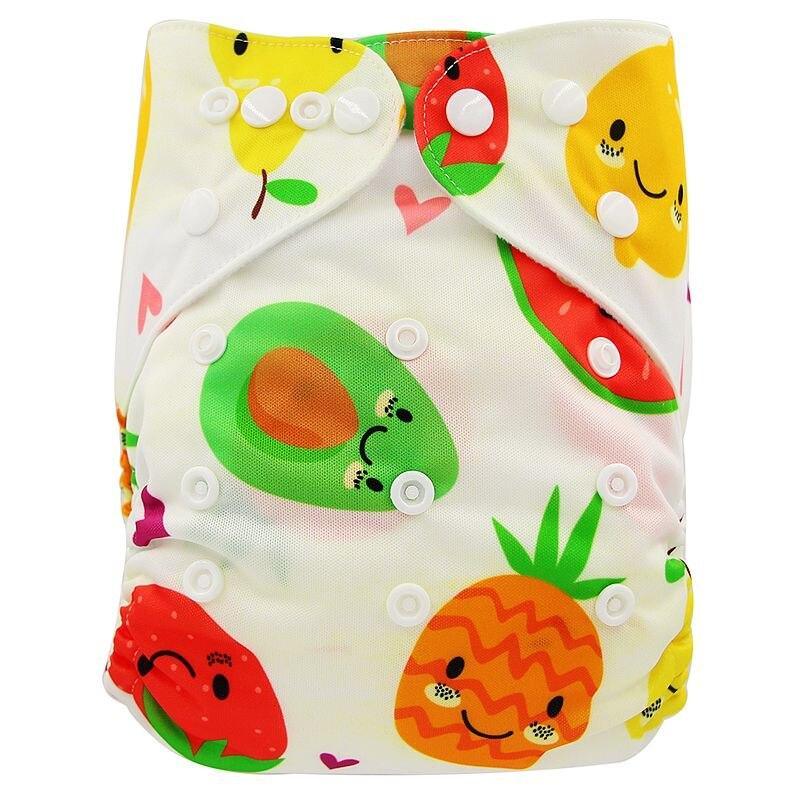 Ohbabyka, детские тканевые подгузники, многоразовые подгузники, унисекс, детские штаны для ухода за ребенком, водонепроницаемые тканевые подгузники с карманами, детские подарки для душа - Цвет: OB167