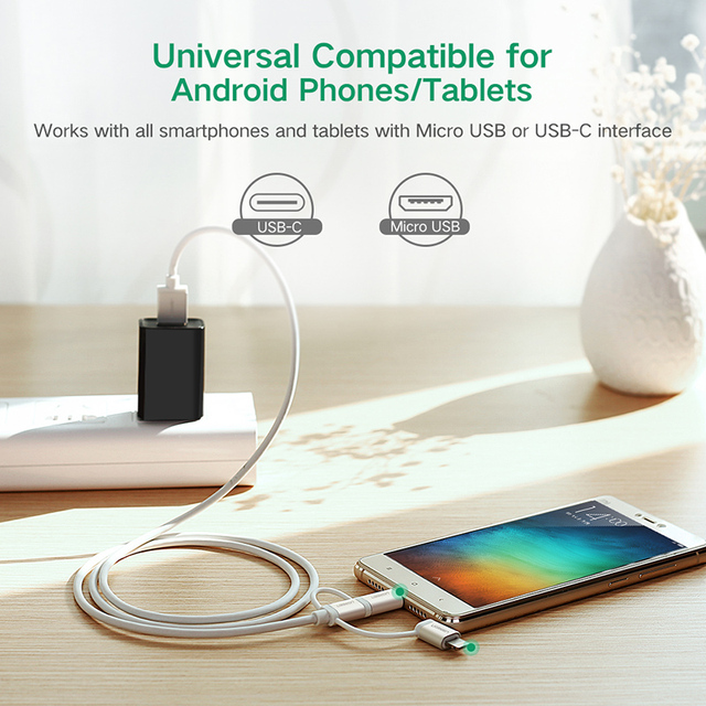 Long All in One USB Cable for Phones