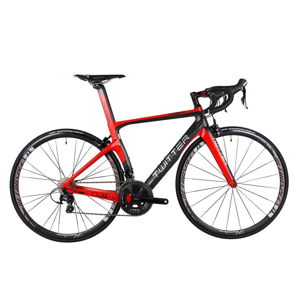 Катушки Shimano 5800 22 Скорость супер легкий Дорожный велосипед полный углеродного волокна велосипед велосипед Велоспорт V тормоза Аэро углерода с ЧПУ подшипник