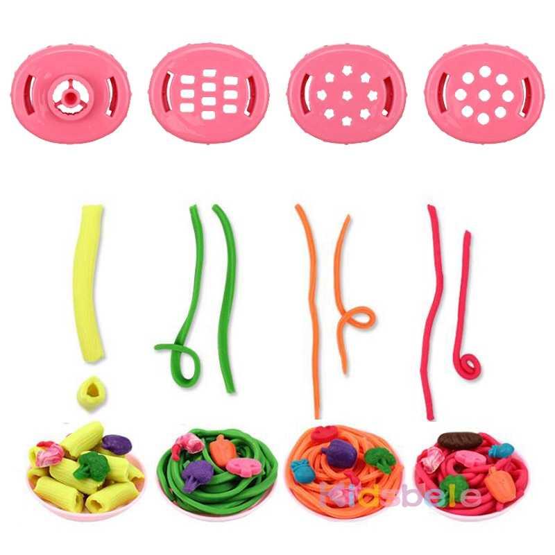 Моделирование глины детская игрушка креативные DIY Ручная работа цвет грязи тесто свинья лапша пресс-форма для пельменей машина Кухня тематические игры игрушки