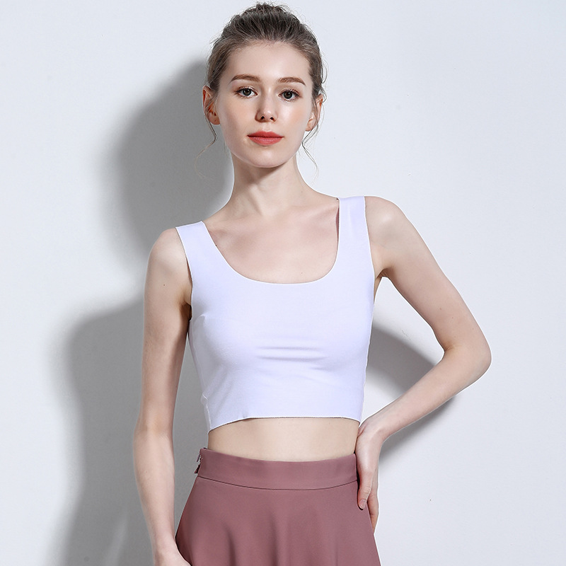 Women 39 s Ladies Vest Corsets Harvest Vest Tops Home Casual Sports Solid Polyester Accessories Short Vest Tops 16 Styles in Tank Tops from Women 39 s Clothing