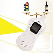 LCD Digital Alcohol Tester Breath Sensor Analyzer Police Detector Breathalyzer Car Accessories