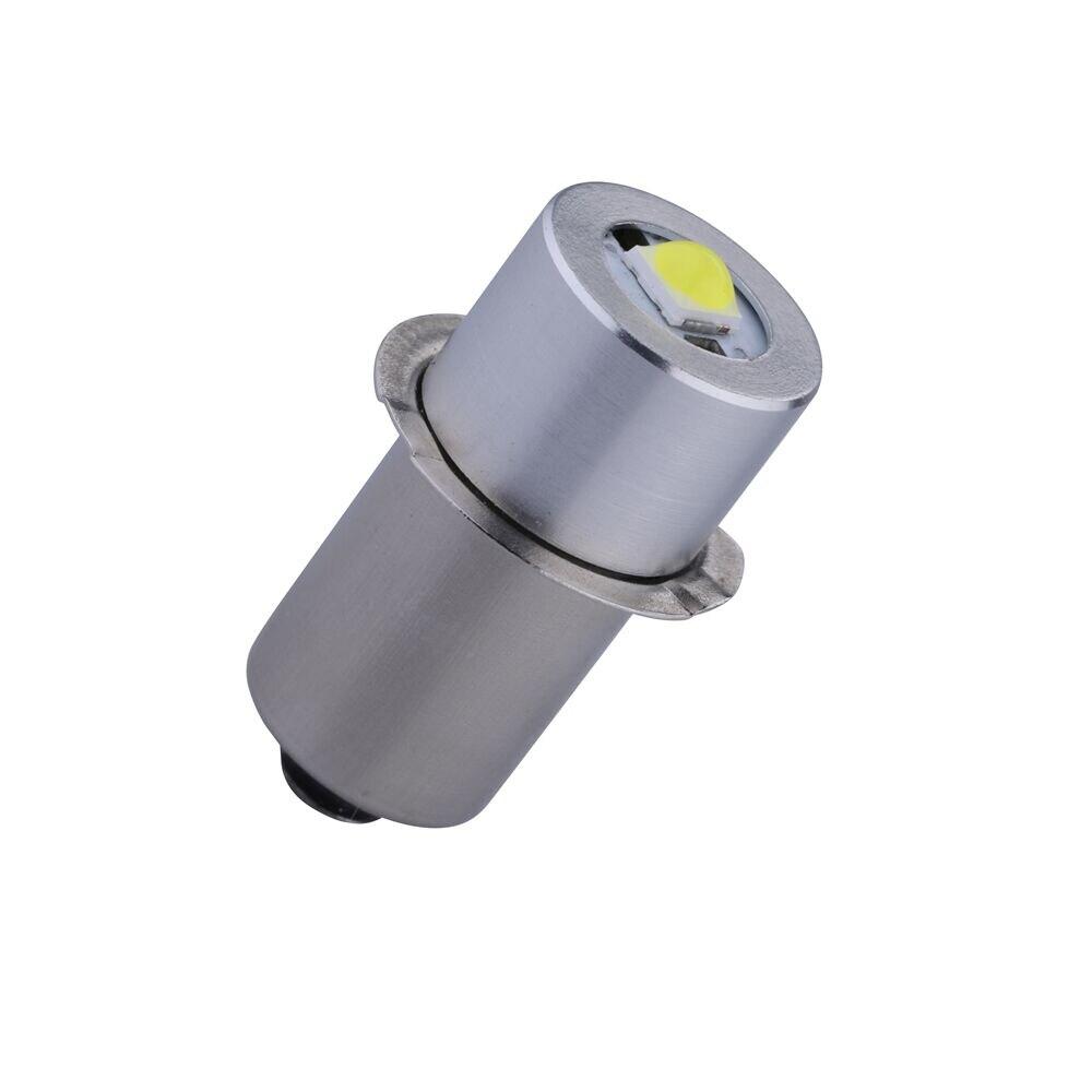 1W P13.5S LED 3V LED Upgrade Bulbs For Flashlight Torch Light with Epistar Chips LED Bulb Light 2C 2D Cell 5 1w led bulb with ceramic housing