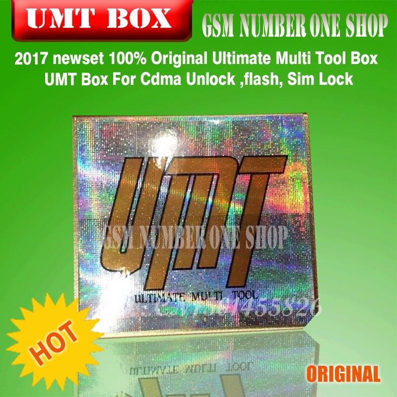 100% Originele Ultimate Multi Tool Box UMT Doos Voor Cdma Ontgrendelen, flash, Sim Lock - 6