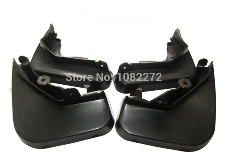 4pcs Front Rear Mud Flaps Splash Guard Mudguard For Mercedes Benz W212 E Class 2009 2012