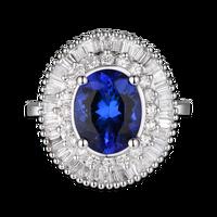2,63 карат элитное кольцо с бриллиантом женское кольцо с бриллиантом Свадебные украшения (см)
