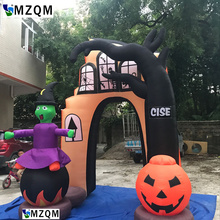 new giant outdoor inflatable halloween arch for decoration arch for party use or promotional