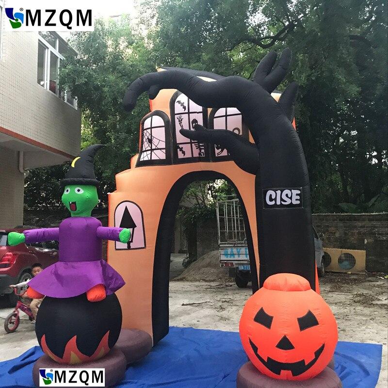 Nuovo Gigante gonfiabile esterno halloween arco, arco gonfiabile per halloween, halloween decorazione arco per uso del partito o promozionaleNuovo Gigante gonfiabile esterno halloween arco, arco gonfiabile per halloween, halloween decorazione arco per uso del partito o promozionale