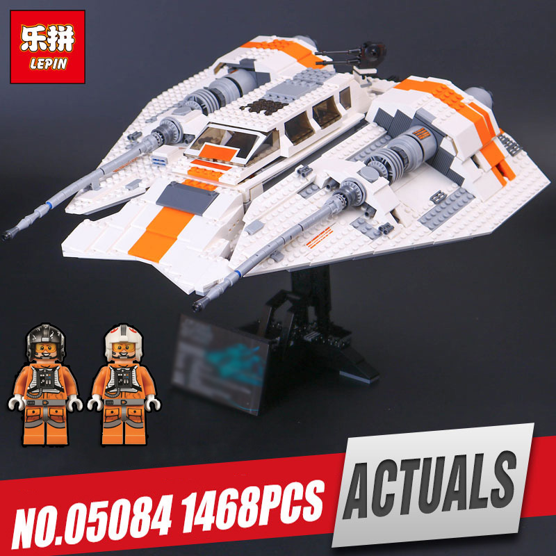 Lepin 05084 Star Series Wars The Snowspeeder Set Children Educational Building Blocks Bricks Toy Model Legoing 10129 for gifts elegant vestido de primera communion romance lace up off the shoulder lace appliques key hole soft tulle ball gown 2 12 year old