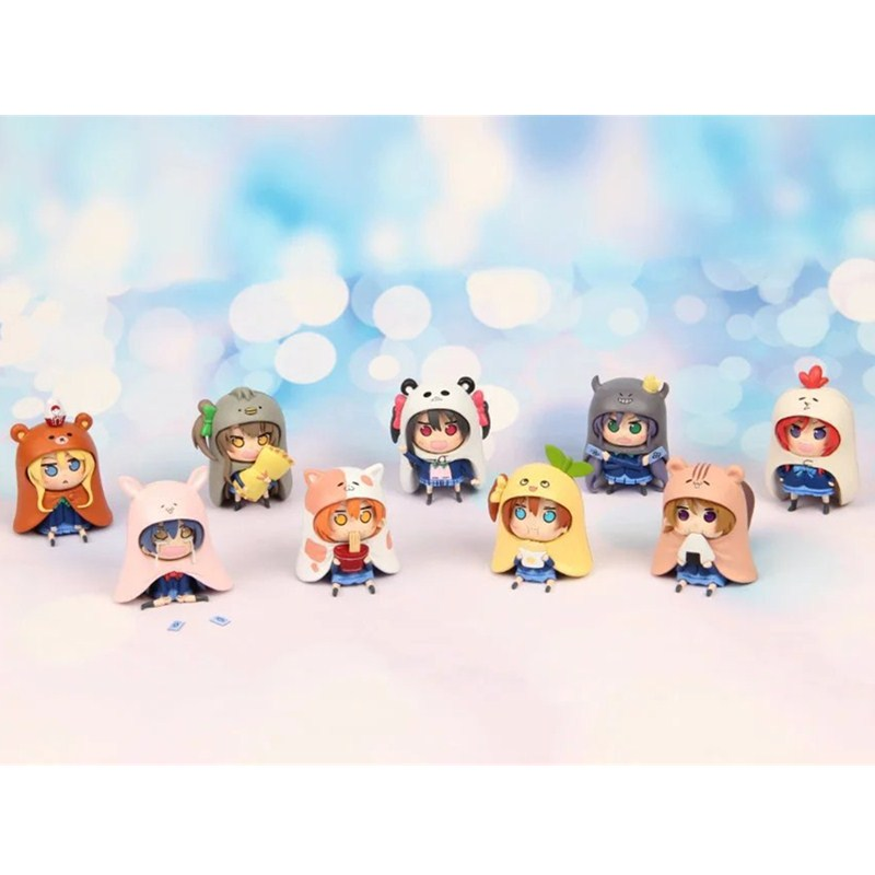 9Pcs/Set LoveLive!School idol project Cute LoveLive Anime Q Version PVC Action Figure Collectible Model Toy RETAIL BOX L1048 18cm japanese anime lovelive love live school idol project birthday figure project eli ayase ellie 1 8 scale pvc action figure