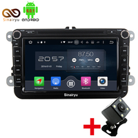 Android 6 0 2 DIN Car DVD Player For VW Volkswagen Passat POLO GOLF Tiguan CC