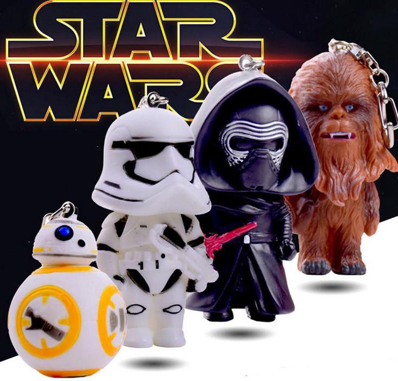 4pcs-set-Star-Wars-BB-8-Stormtrooper-Darth-Vader-Chewbaca-Keychain-Toys-BB8-Action-Toys-PVC