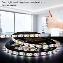 PIR Motion Sensor Led Strip Light 5V Waterproof Under Cabinet Closet Lamp Tape 2835 Battery Lights Fita for Bedroom Kitchen