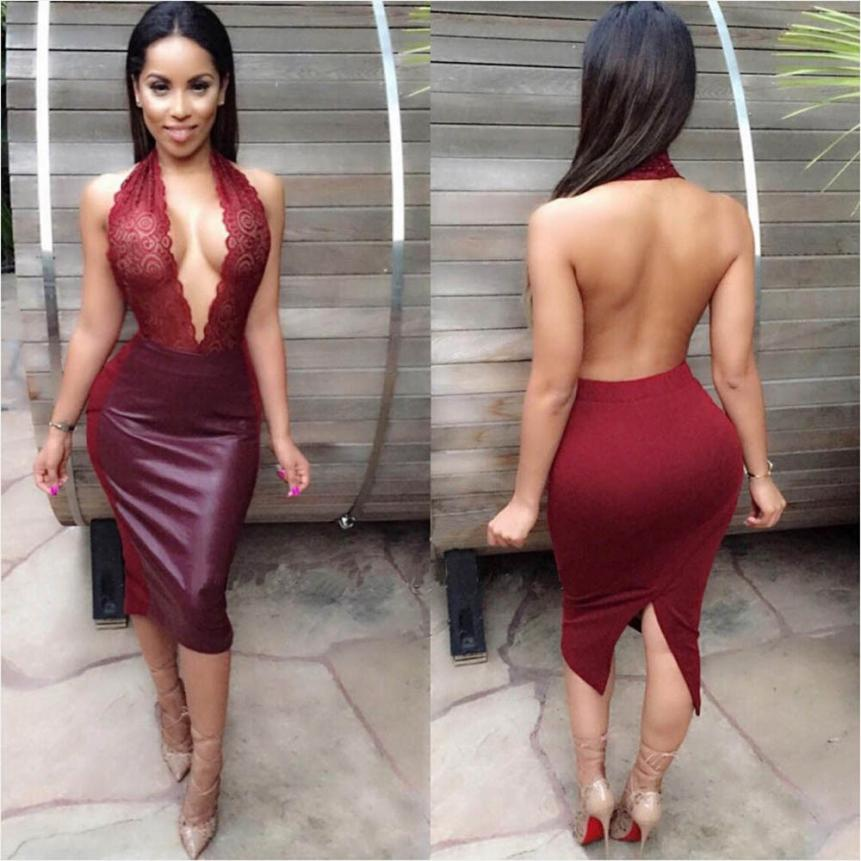 05d05a70182 Women Dress Summer New Design Western Style Sleeveless Sexy Dresses For Ladies  Womens Sexy Dresses Party Night Club Dress 2019-in Dresses from Women's ...