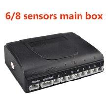 Reverse Assistance Backup Radar System High Quality Best Selling Car Detector Parking Sensor Kit 6/8 Sensors Main Box 12V