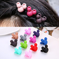 Mickey Mouse Women Hair Accessories Hair Clip Hair Claws Girls  and Kids Hair Dress with Mickey Moust 6pcs a lot