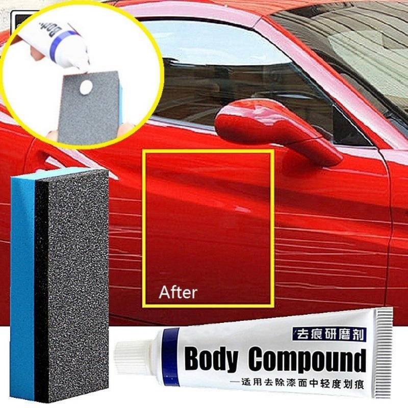Car Body Painting Polishing Grinding Compound Polish Care Scratch Abrasion Car Scratch Repair Paint Care OX