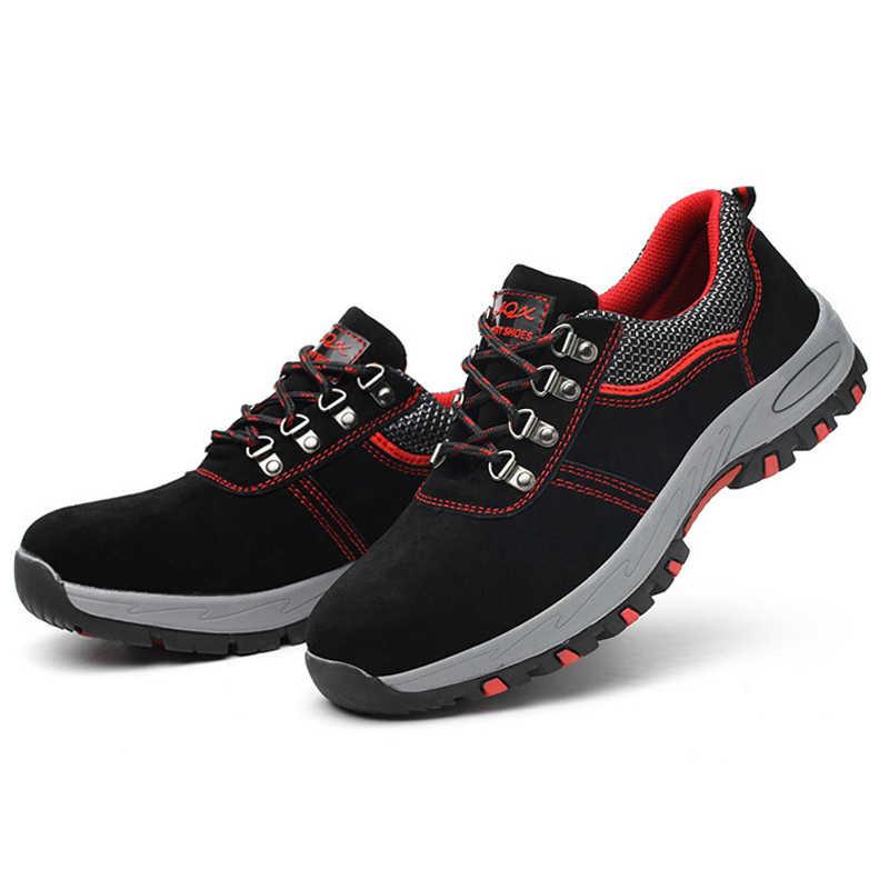 Анти-клещ прокол четыре сезона походная обувь Нескользящая одежда-устойчивая защитная обувь легкая дышащая защитная Рабочая обувь