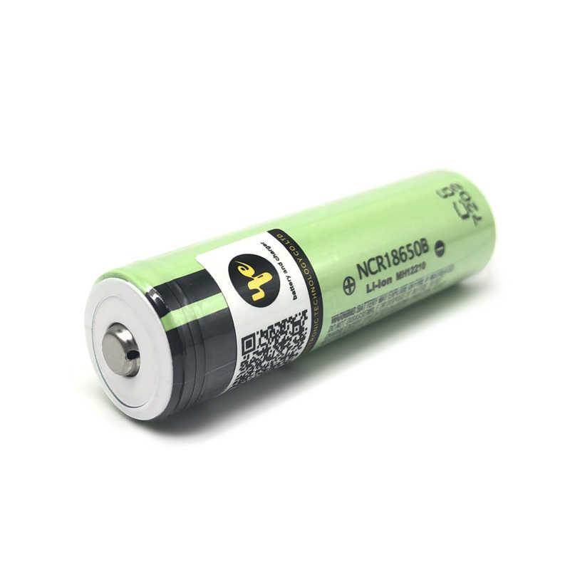 Аккумуляторные батареи 18650 батарея литиевая Ncr18650B 3400mah 3,7 V батарея 18650 аккумуляторная батарея (Добавить Острый)