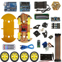 Multifunction Bluetooth Controlled Robot Smart Car Kits For UNO
