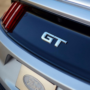 Pegatina 3d Logotipo de GT para coche, pegatina decorativa a la moda para Ford Mustang Focus Mk 1 2 3 7, estilo de coche Mondeo