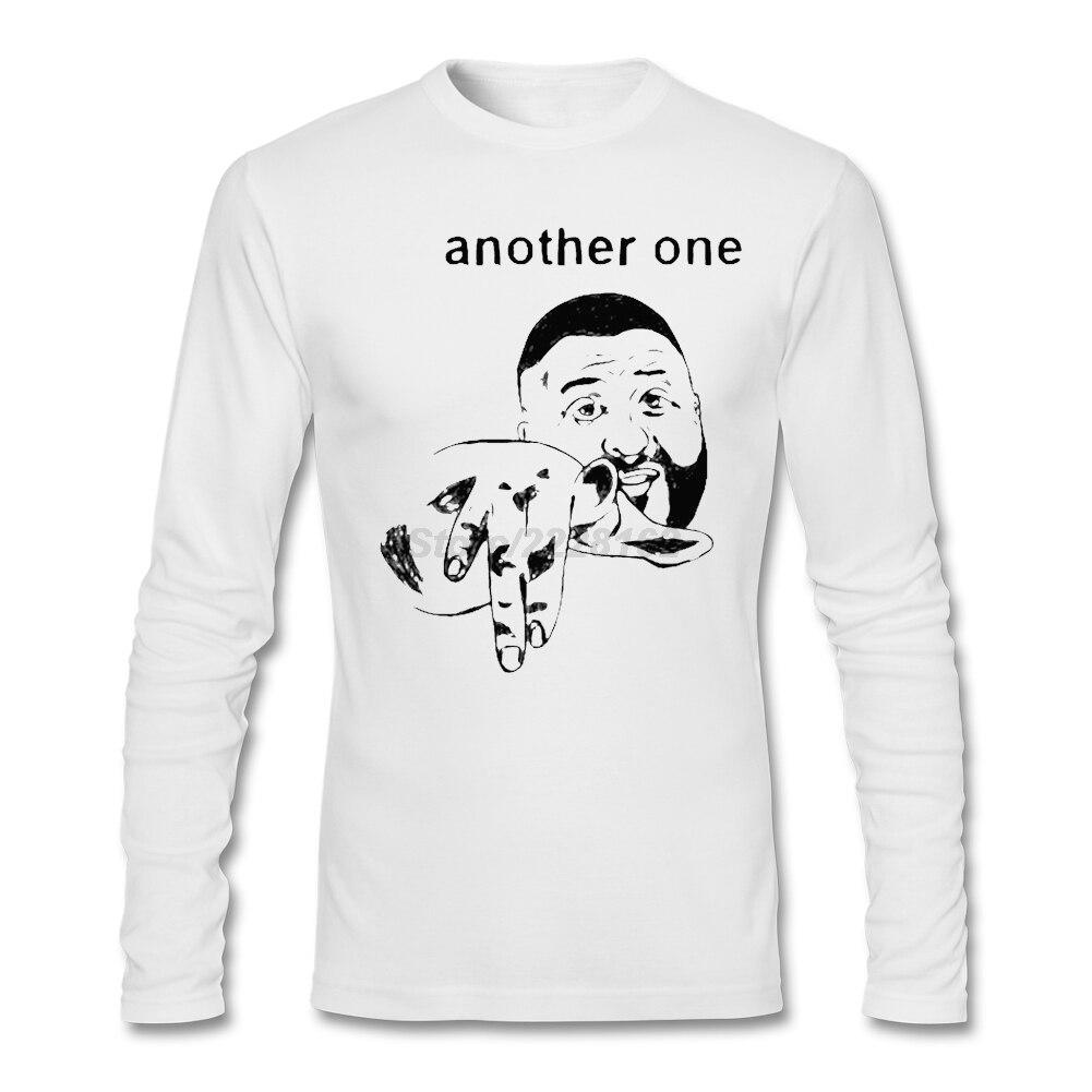 DJ Khaled Rap T-shirts Men Perfect Trendy Hot Another One Shirt Slogan Creator Organic Cotton tshirt Gentleman garment